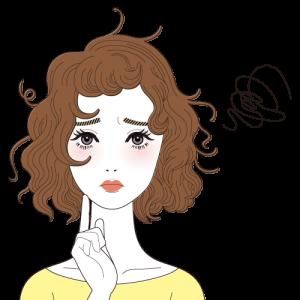 髪全体に出るクセ毛